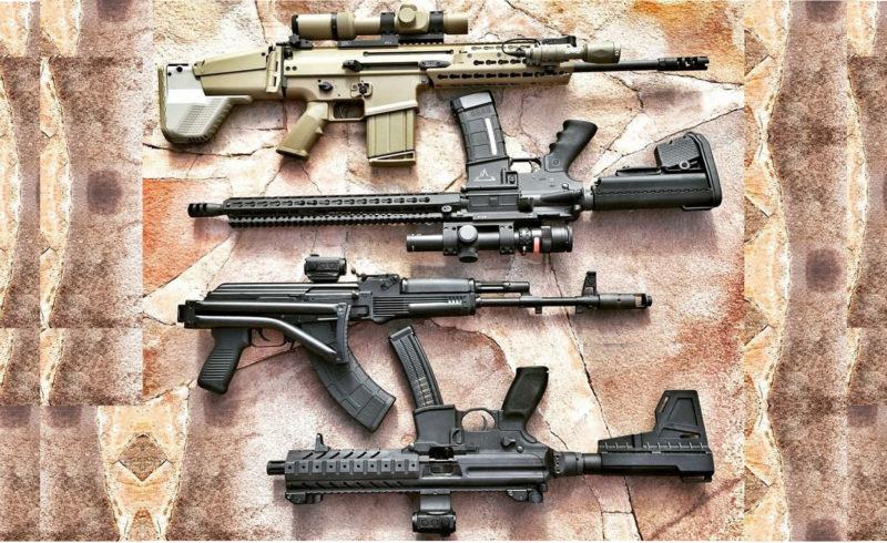 Автоматы, Карабины, Штурмовые винтовки