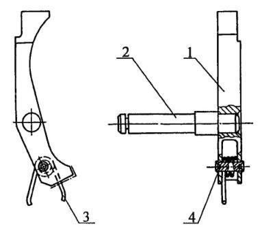 Рисунок А11. 6Г30 Шептало блока