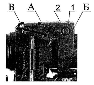 Рисунок А13. 6Г30 Разобщитель с осью