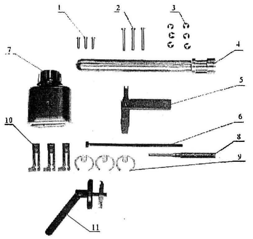 Рисунок А19. 6Г30 Одиночный комплект ЗИП