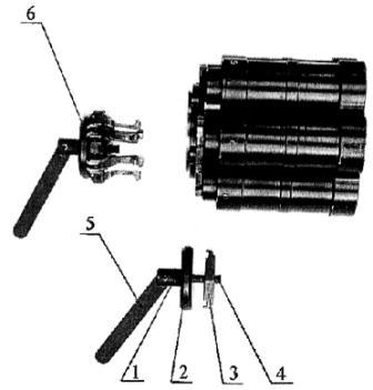 Рисунок А20. 6Г30 Отделение узла фиксации от блока ствольного