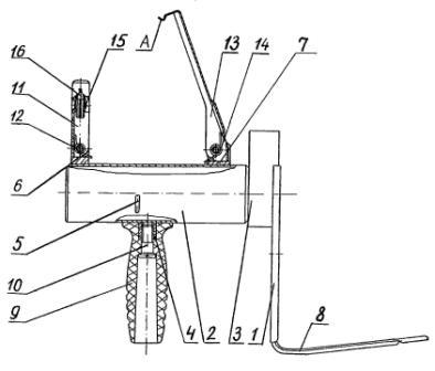 Рисунок А6. 6Г30 Крышка с рукояткой