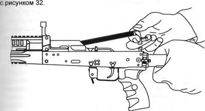 АК-12, Отделение возвратного механизма, Скачать НСД, наставление, руководство