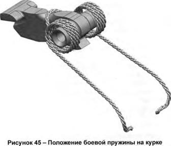 Положение боевой пружины на курке, Скачать НСД, наставление, руководство