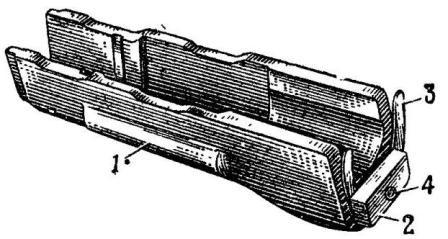 Рис. 42. Цевье (деревянное) АК74