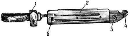 Рис. 45. Ножны АК74
