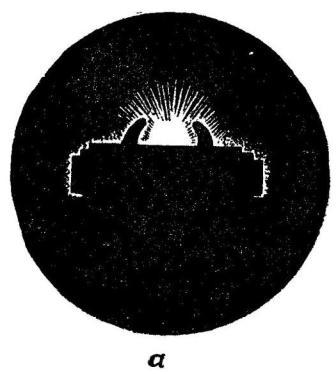 Рис. 97. Прицеливание при стрельбе по цели, обнаруживающей себя вспышками выстрелов, с помощью предохранителя мушки и прицельной планки АК74