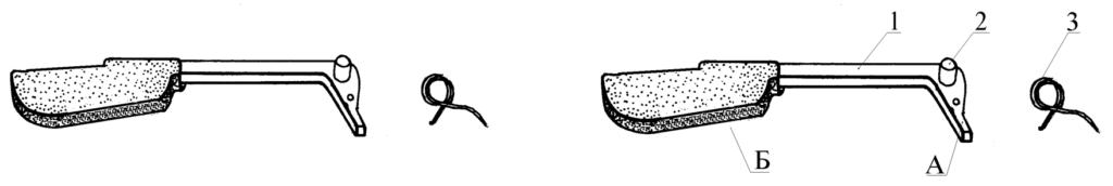 """Рисунок 2.4 - Задний предохранитель в сборе СР1М """"Вектор"""""""
