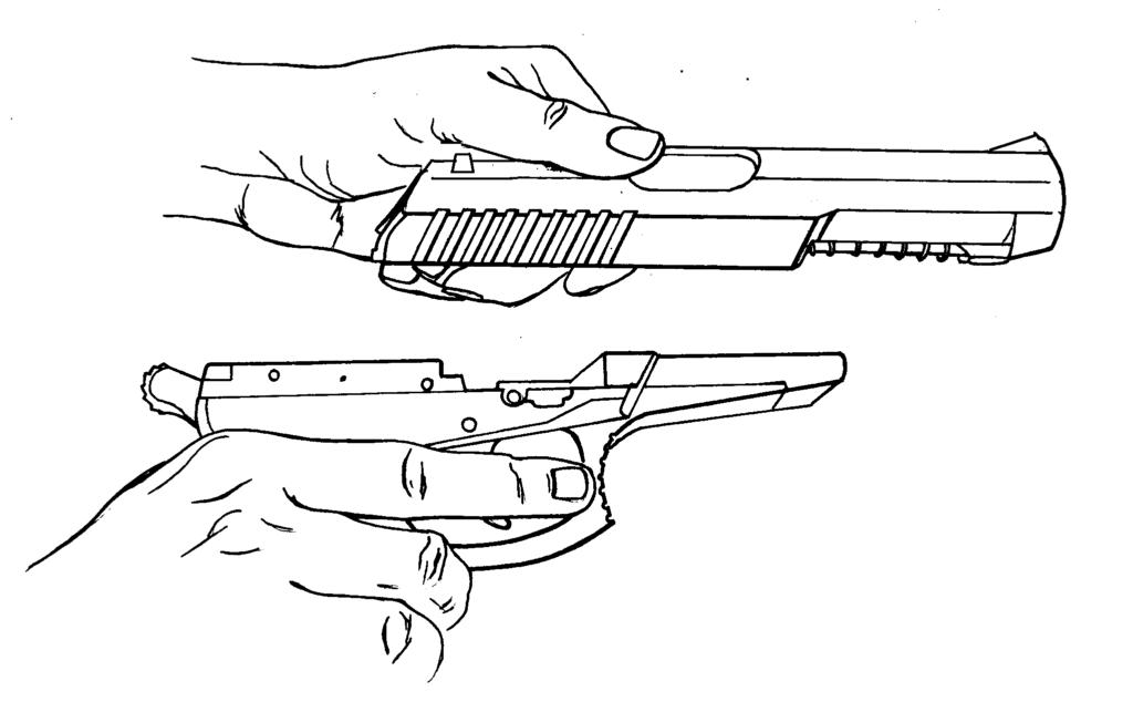 Рисунок 4.11 - Присоединение затвора к рамке