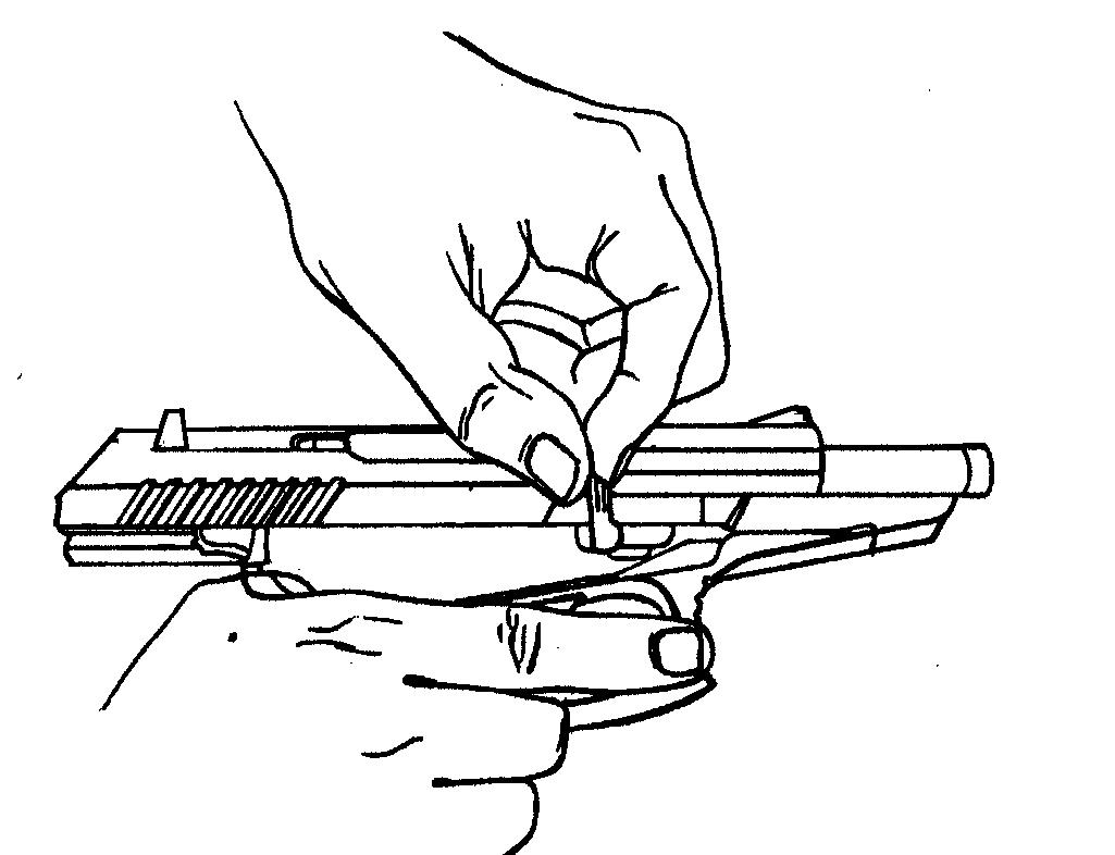 Рисунок 4.12 - Присоединение ствольной задержки