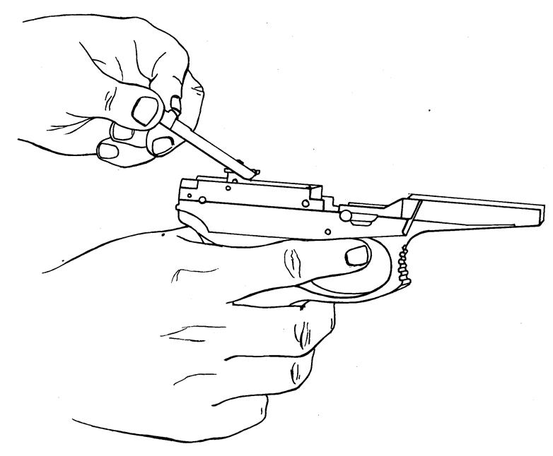 Рисунок 4.20 - Отделение тяги