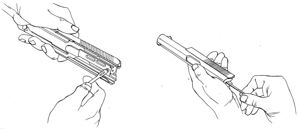 Рисунок 4.23 - Отделение ударника