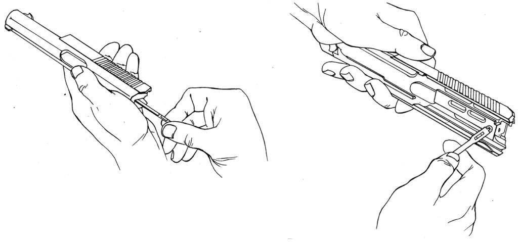 Рисунок 4.30 - Присоединение ударника