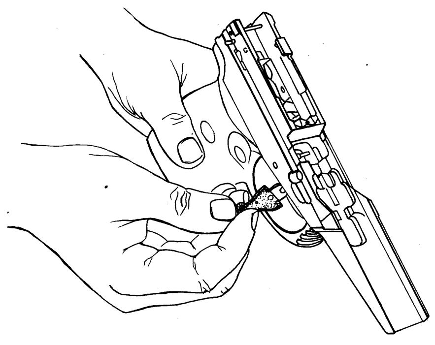 Рисунок 4.34 - Присоединение спускового крючка