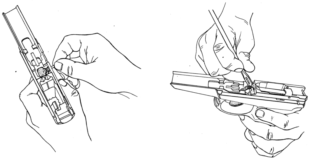 Рисунок 4.35 - Присоединение спускового крючка