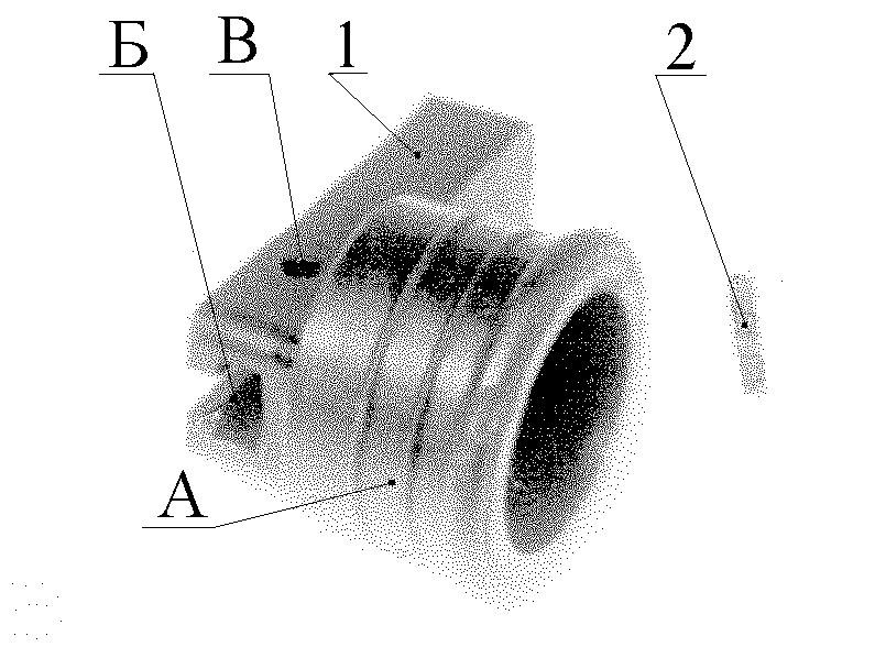 Рисунок 2.17 – Упор передний СР2
