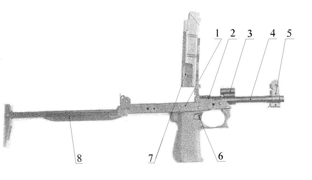 Рисунок 2.2 – Коробка автоматики со стволом СР2