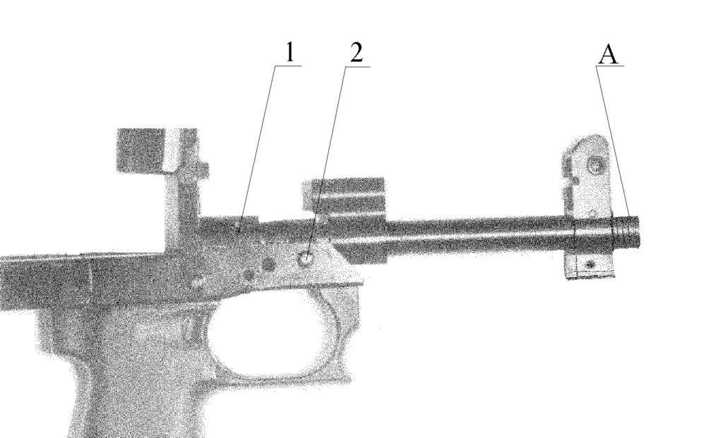 Рисунок 2.5 – Ствол СР2