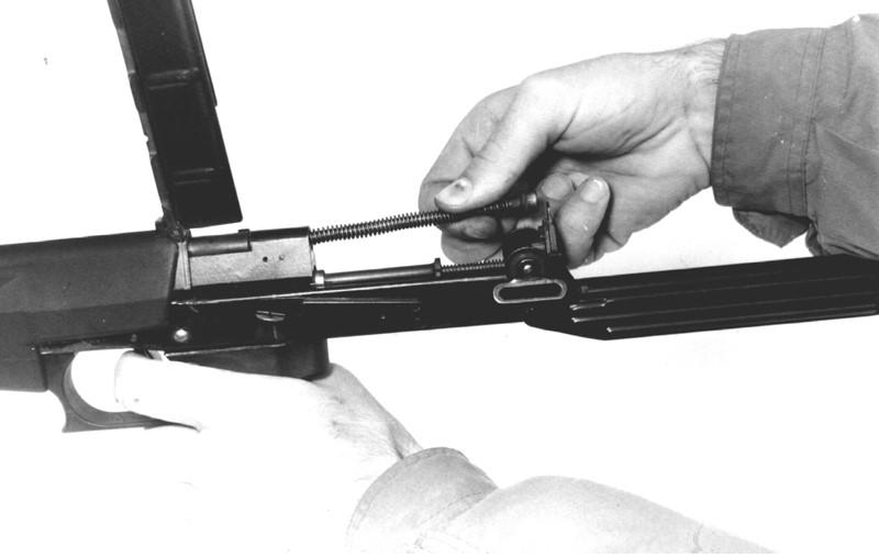 Рисунок 4.4 – Отделение возвратного механизма СР2