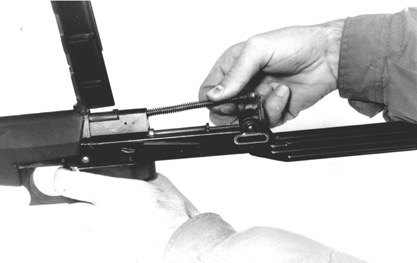 Рисунок 4.18 – Присоединение возвратного механизма СР2М