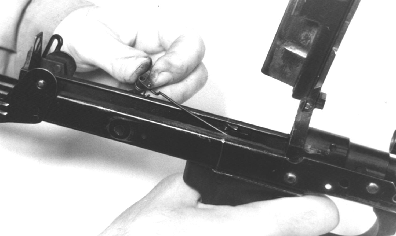Рисунок 4.34 – Отделение спусковой втулки СР2М