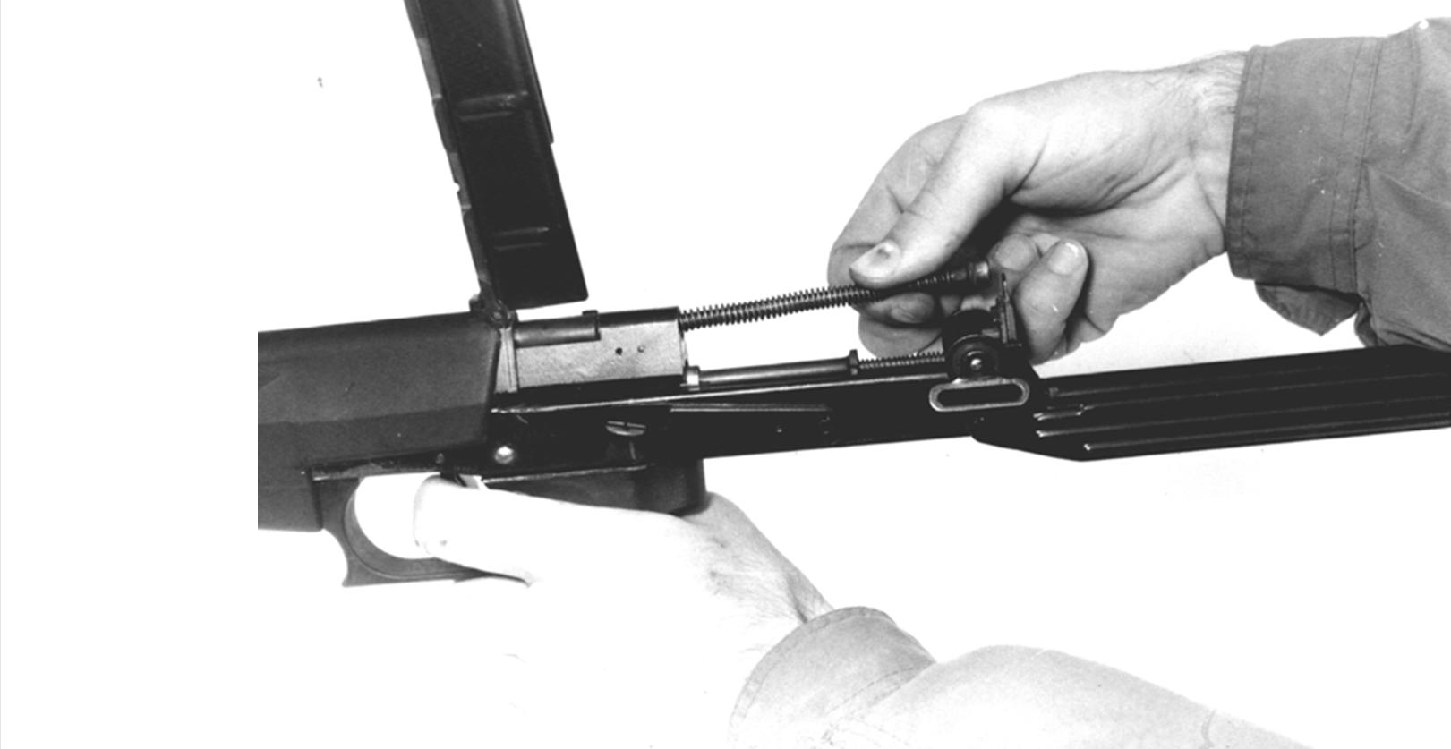 Рисунок 4.5 – Отделение возвратного механизма СР2М