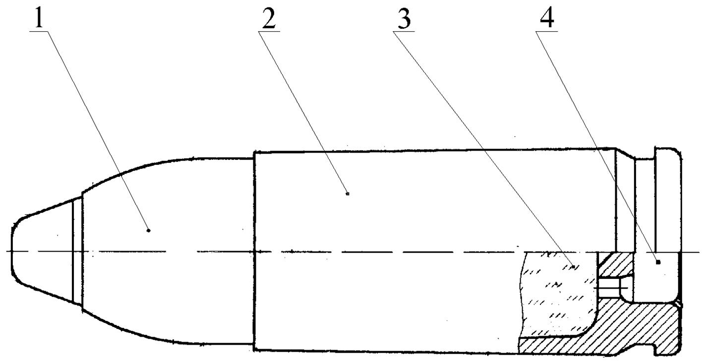 Рисунок 1.10 – Схема устройства патрона