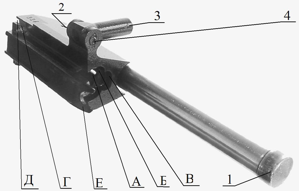 Рисунок 2.10 – Затворная рама в сборе СР2М