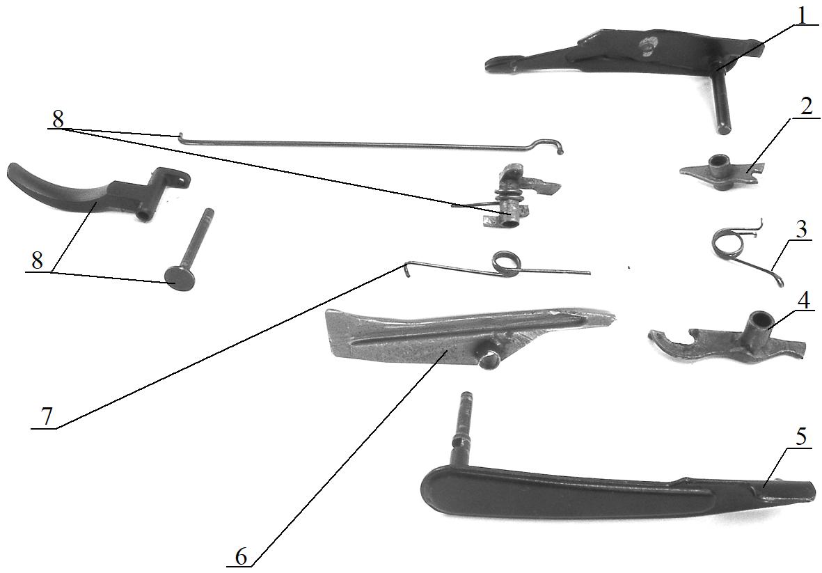 Рисунок 2.21 – Спусковой механизм СР2М