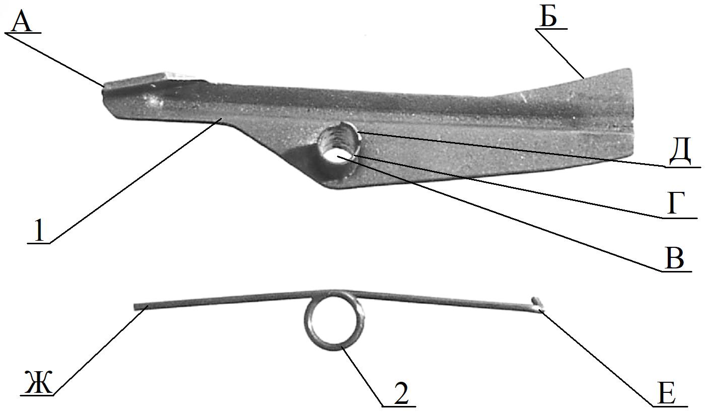 Рисунок 2.25 – Автоспуск, пружина автоспуска СР2М