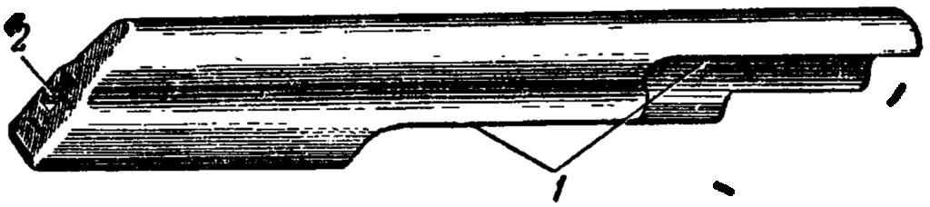 Рис. 31. Крышка ствольной коробки АК