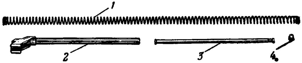 Рис. 35. Возвратный механизм АК