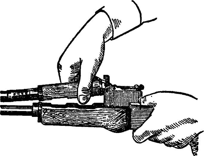 Рис. 9. Отделение газовой трубки со ствольной накладкой АК